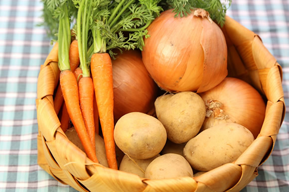 子供の離乳食用にらでぃっしゅぼーやの新鮮安心野菜を宅配注文