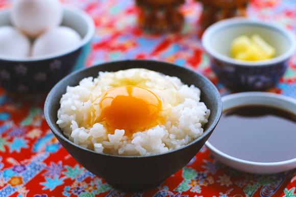 オーガニックの卵