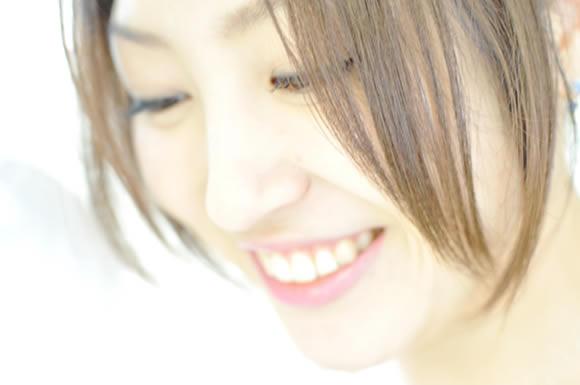 きれいな笑顔
