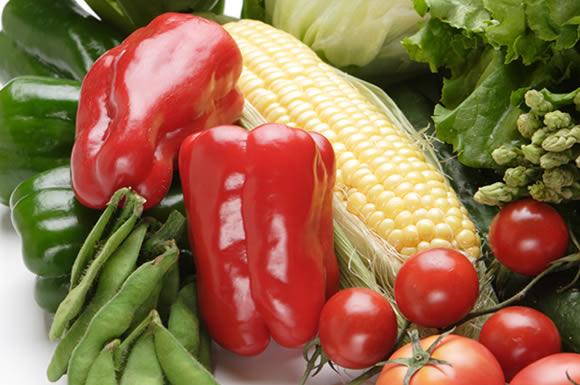 野菜盛り合わせ赤