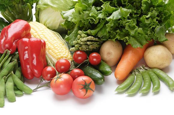 野菜のオンパレードや