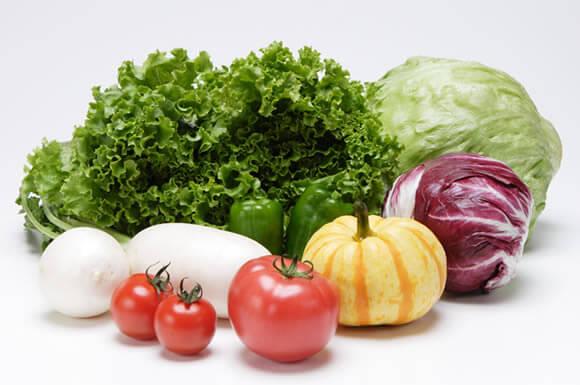 野菜の塊産地明記