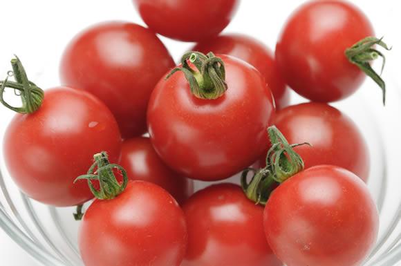 たくさんのミニトマト