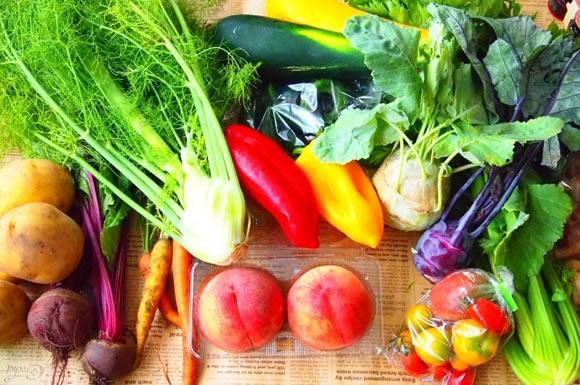 食材宅配で季節を先取り!野菜・果物・魚など旬な食品がいろいろ手に入る